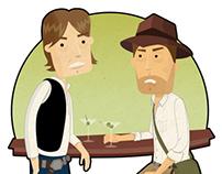 Han Solo & Indiana Jones