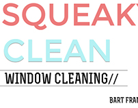 Squaky Clean  Business card