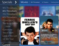 iPad Netflix app Redesign