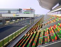 India's Formula 1 Circuit 3D Renders