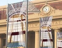 Wellington City streetpole banner
