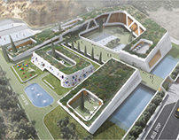 Competition (1st Prize) The Compass, School Complex