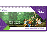 Bank Muamalat 2014 Calendar (Design Prototype)