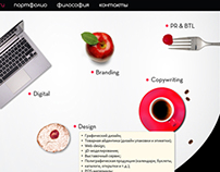 Website design for Muffin Group