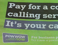 Powwownow 'It's your call'