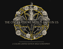 THE ONLY FAITH WE NEED IS FAITH IN US