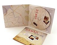 """""""Kiwis on the road"""" CD packaging"""