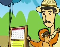 Ragunan Zoo Information Kiosk