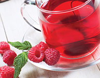 Brochure about tea