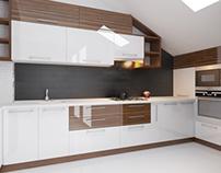 Kitchen attic