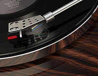 AKAI BT-500 Turntable