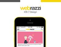 Webrazzi iOS 7 Design