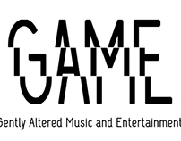 G.A.M.E. Logo & Business Card