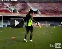 Ronaldinho Crossbar Challenge