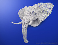 Elephant [Animal Lace]