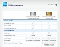 Amex Card Comparison