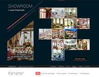 Wooden windows. Website gallery