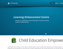 Web design for learning center targeting youths