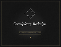 CONSPIRACY - Blog Redesign Concept