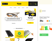 E-Commerce Theme Concept