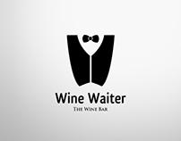 Wine Waiter - Logo Design