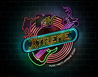 MTV - XTREME- MUSIC MEETS EXTREME SPORT{Proposed Logo}