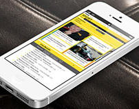 Responsive BBC Sport Homepage Reimagining