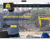 Constructio - A website template for cosntruction