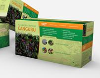 Kit Jardim Vertical Canguru - Embalagem