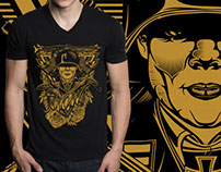 The Artistic German Soldier T-shirt