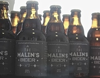 The Malin's beer - Hand-crafted ale
