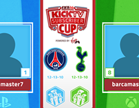 KICKTV - Subscriber Cup Animations