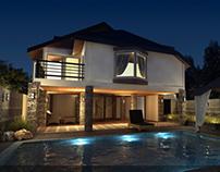 (Archiviz) Bali House