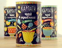 Tea Package Design in National Traditional Style