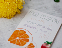 Food Passport Design
