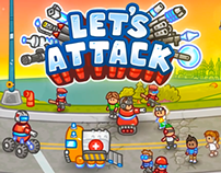 Let's Attack iOS Gameplay trailer