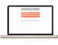 Richard Saul Wurman Website