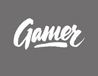 Gamer logotype