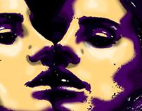 Lana Del Rey reflection