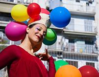 Lady Pomfólyx / Dame à Ballons