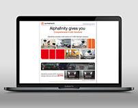 Alphafinity EDM Design / 2016