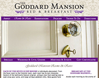 Goddard Mansion B&B Website