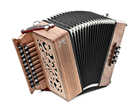 Diatonic accordion