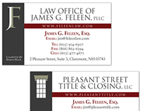 Law Office of James G. Feleen Stationary