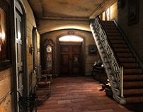 Hall (3D scene)