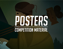 Posters which never made to print.