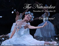 Design for Houston Ballet's The Nutcracker.