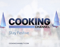 Happy holidays from Cooking Channel's top talents