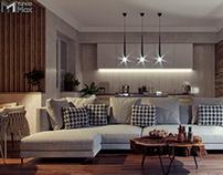 Apartment in Penza ( Artificial Lighting )