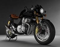 Honda CB Sevenfifty 'Cafe Racer'